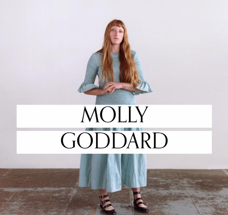 2018 Bfc Vogue Designer Fashion Fund Winner Molly Goddard Zeitblatt Magazin