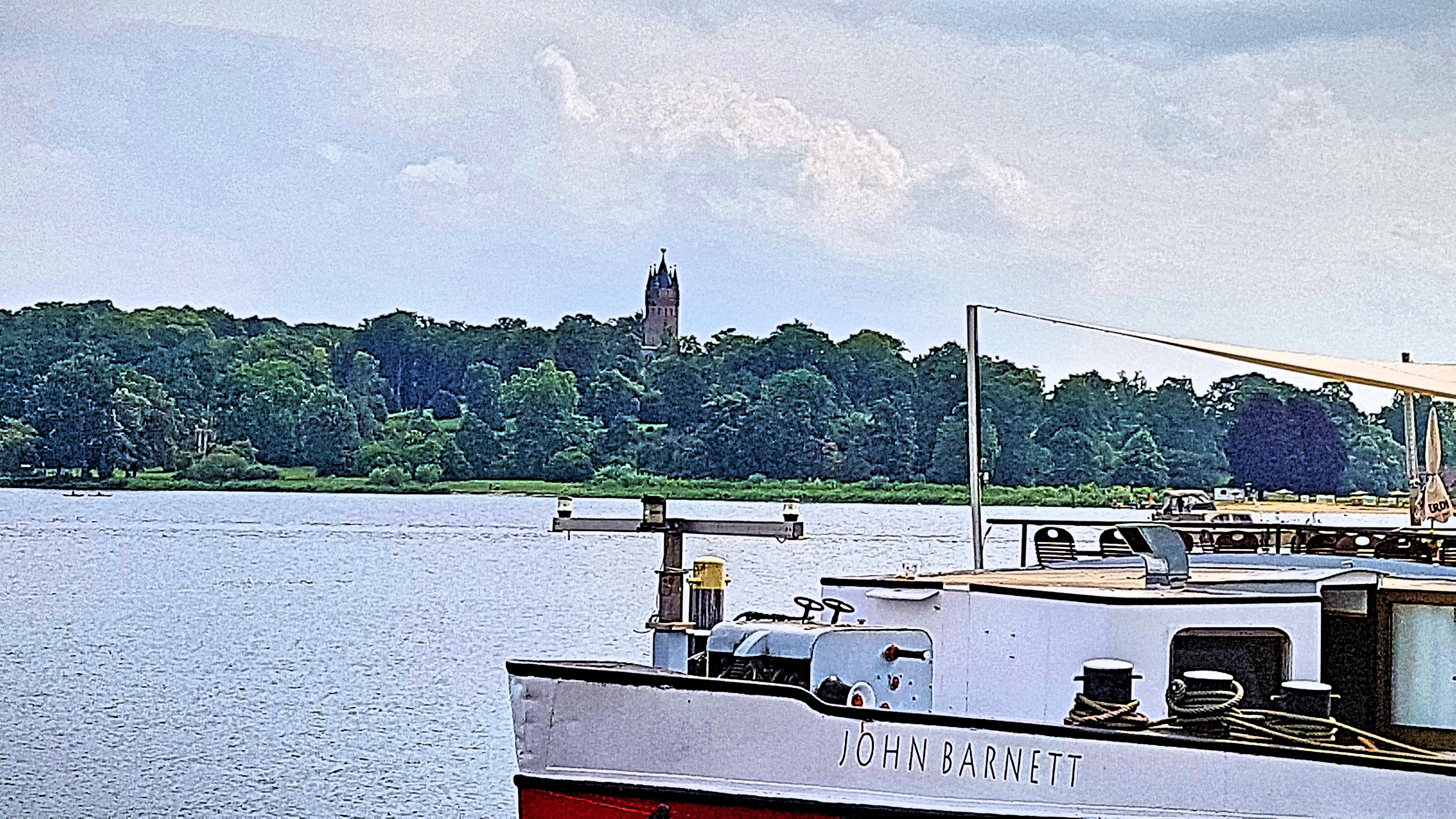 Babelsberger Schlosspark Flatowturm Potsdam Brandenburg