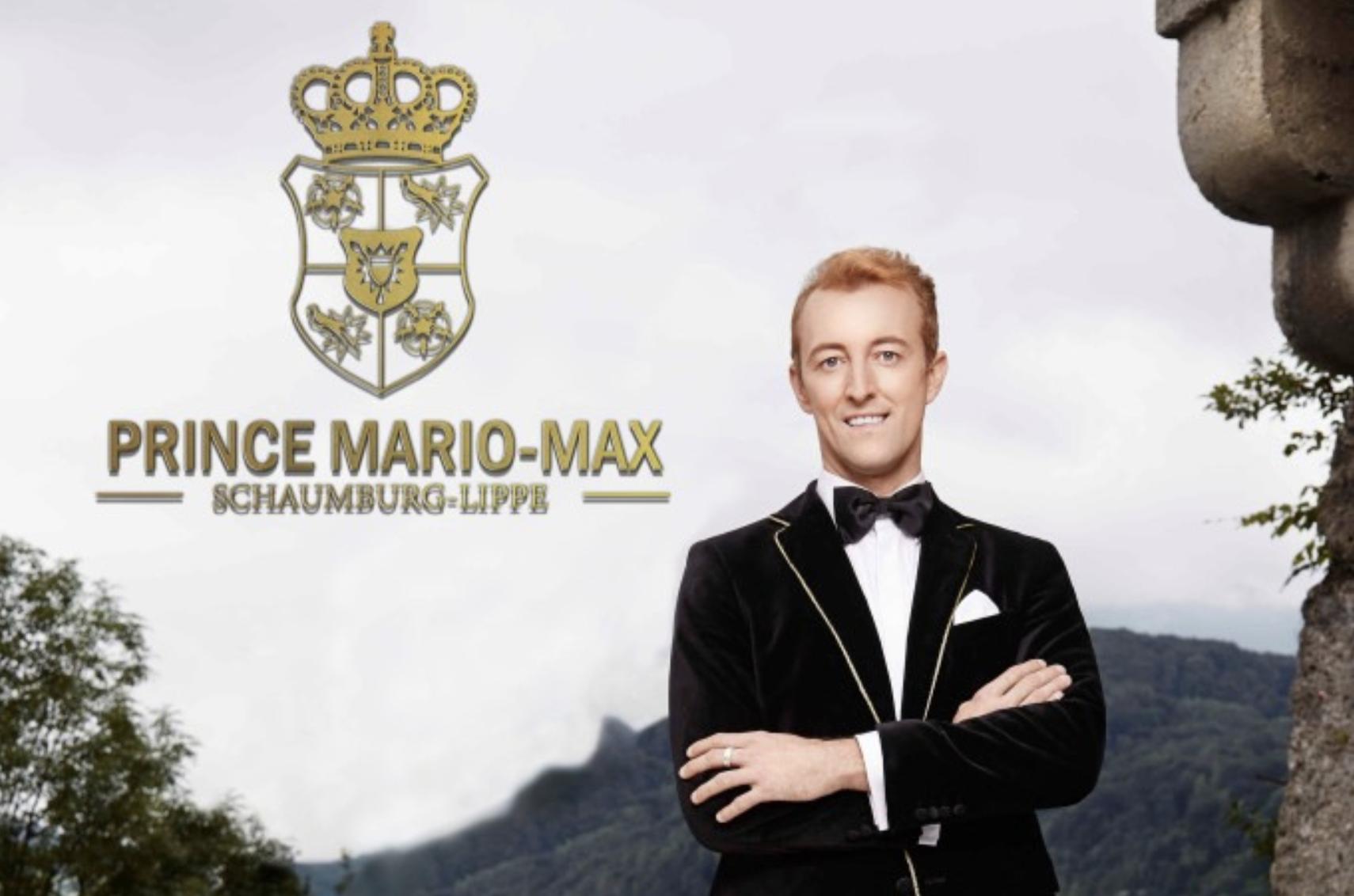 Prinz Mario-Max Schaumburg-Lippe auf RTL 2 Promis auf Hartz IV TV-Show